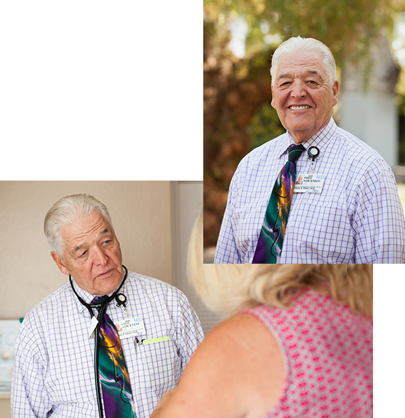 family physician concord ca - Image of our founder, Dr. Von Stieff