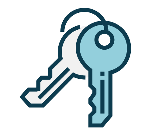 Family Physician in Concord - Image of a set of keys